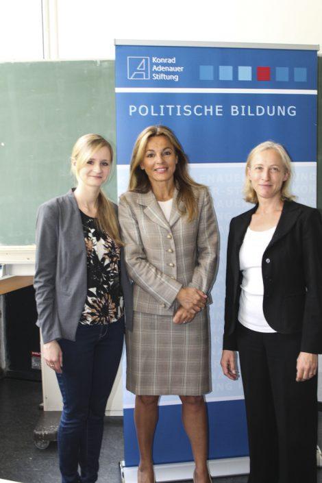 Michaela Noll, CDU, MdB, Vorsitzende des Kreisverbandes Mettmann